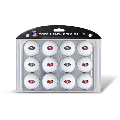 Team Golf NFL San Francisco 49Ers Golf Balls, 12 Pack