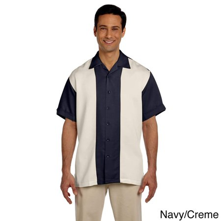 Men's Two-tone Bahama Cord Camp Shirt Mens Cord Camp Shirt