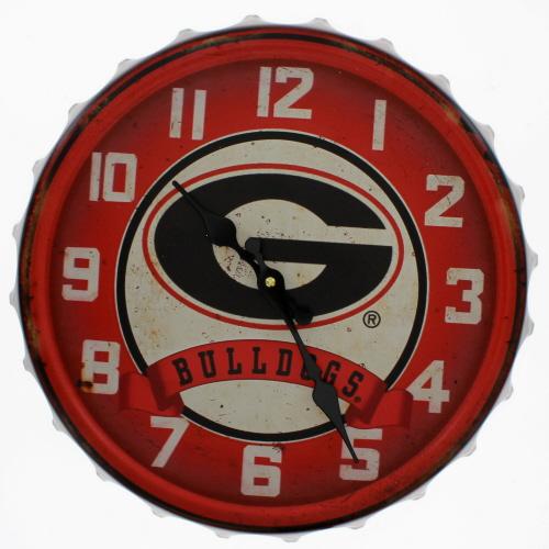 Georgia Bulldogs Wall Clock