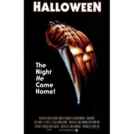 Halloween 1978 Tv Version (Halloween POSTER Movie (11 x 17 Inches - 28cm x 44cm) (1978) (Style D) By Decorative Wall)