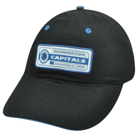 NHL WASHINGTON CAPITALS COTTON  BLACK HAT CAP - Washington Capitals Halloween Party