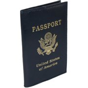 Size one size Leather Travel Passport Cover