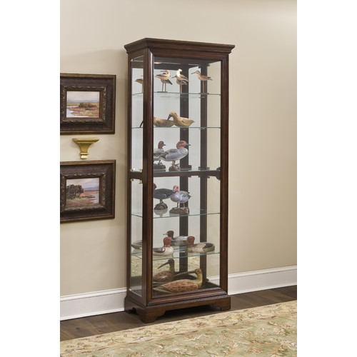 Darby Home Co Charbonneau Curio Cabinet by