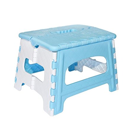 Green Direct Kids And Adult Kitchen Step Stool  A Great Bed Step Stool for bedside use The Ideal folding Step Stool (Blue)