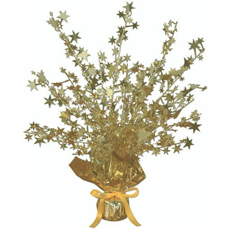 Gold Foil Star Gleam 'N Burst Centerpiece (Rock Star Centerpieces)