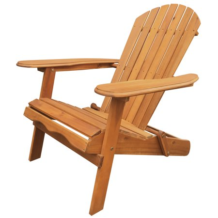 Leigh Country Folding Adirondack Chair - Natural ()