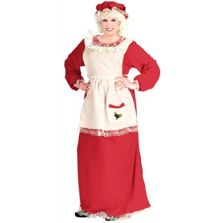 Mrs. Claus Women's Adult Halloween Costume - Ellen On Halloween