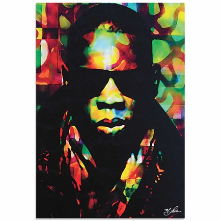 Metal Art Studio Jay Z Color Of A Ceo By Mark Lewis Painting Print