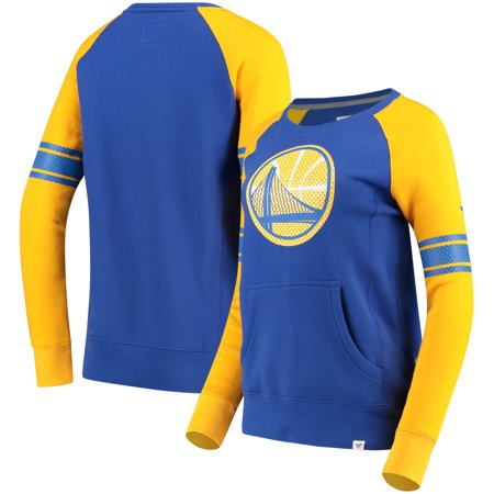 527e7742773a Golden State Warriors Fanatics Branded Women s Iconic Pullover Sweatshirt -  Royal Gold - Walmart.com