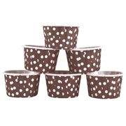 LYUMO 100PCS Mini Cupcake Liners Paper Round Cake Baking Cups Muffin Cases Home Party Wedding,  Round Cake Cup, Muffin Cases Cup