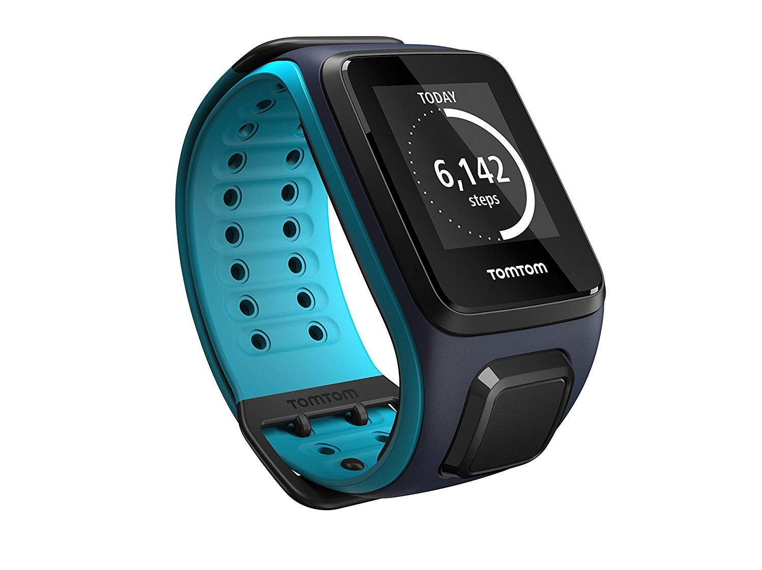 TomTom Spark Music, GPS Fitness Watch + 3GB Music Storage (Large) by