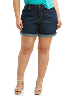 c5b1fc6552 Product Image Women's Plus Size 7 inch Denim Short