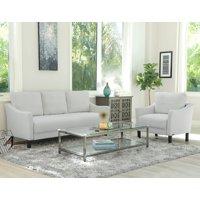 Devon & Claire Elise Fabric Sofa and Armchair Set, Multiple Colors