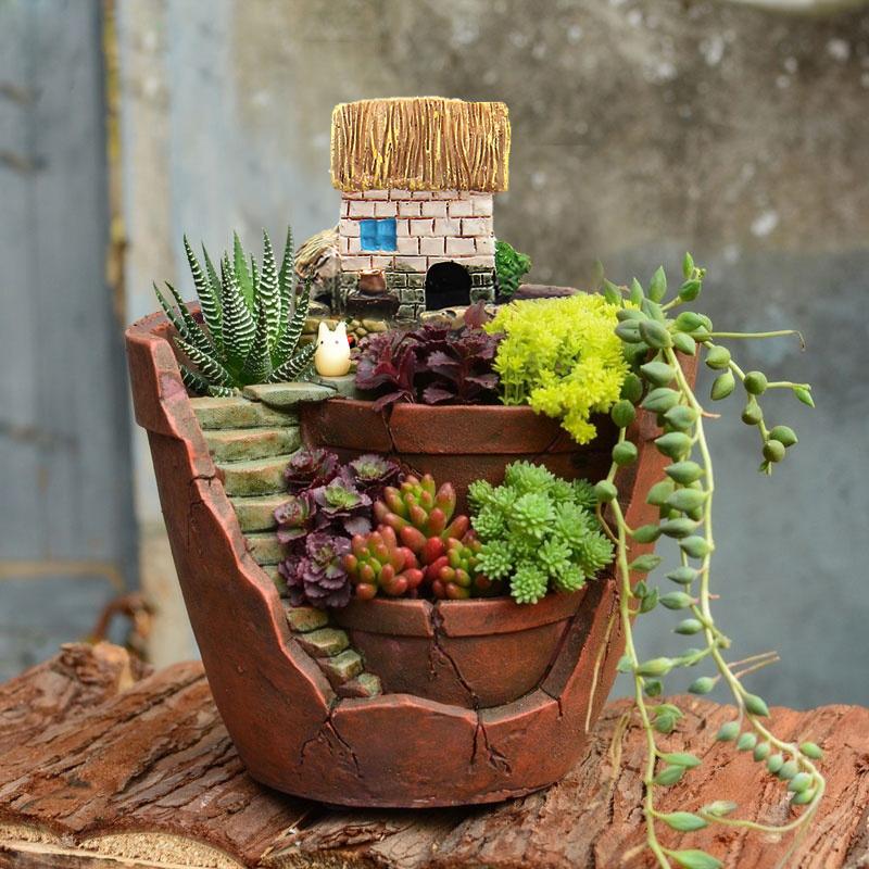 10 X 12cm 3 9x4 7 2pcs Flower Basket Planter Garden Potted
