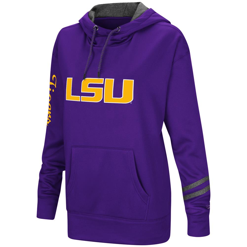 Women's Performance Pullover LSU Tigers Louisiana State Hoodie