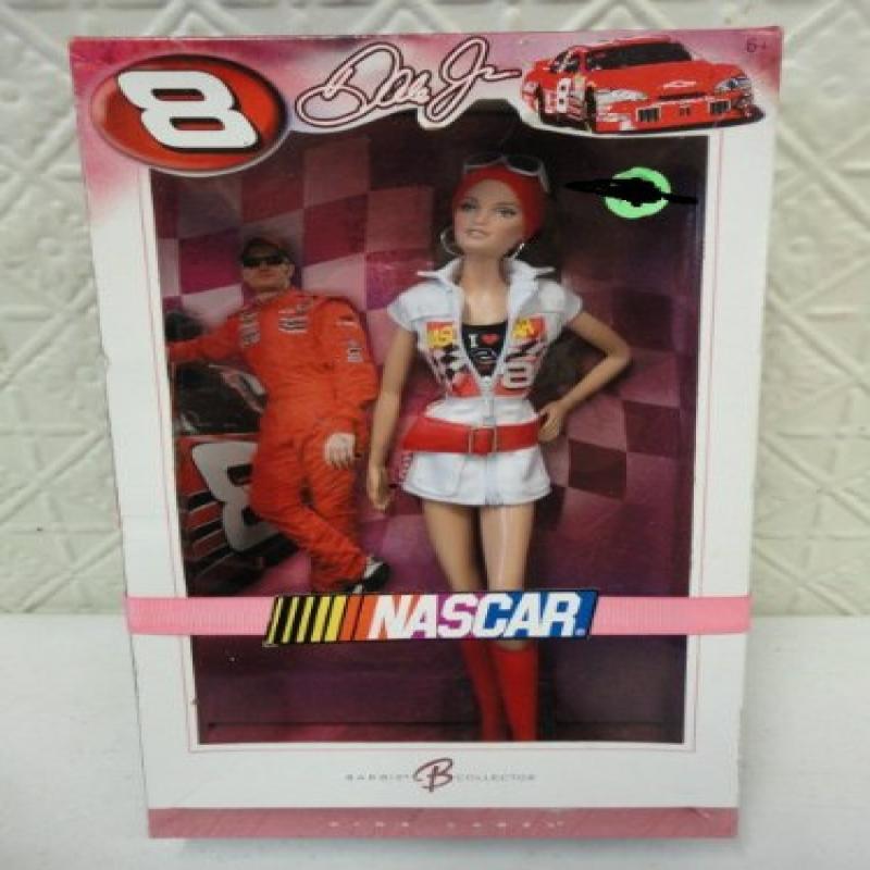 Nascar Dale Earnhardt Jr. Collector Barbie Doll