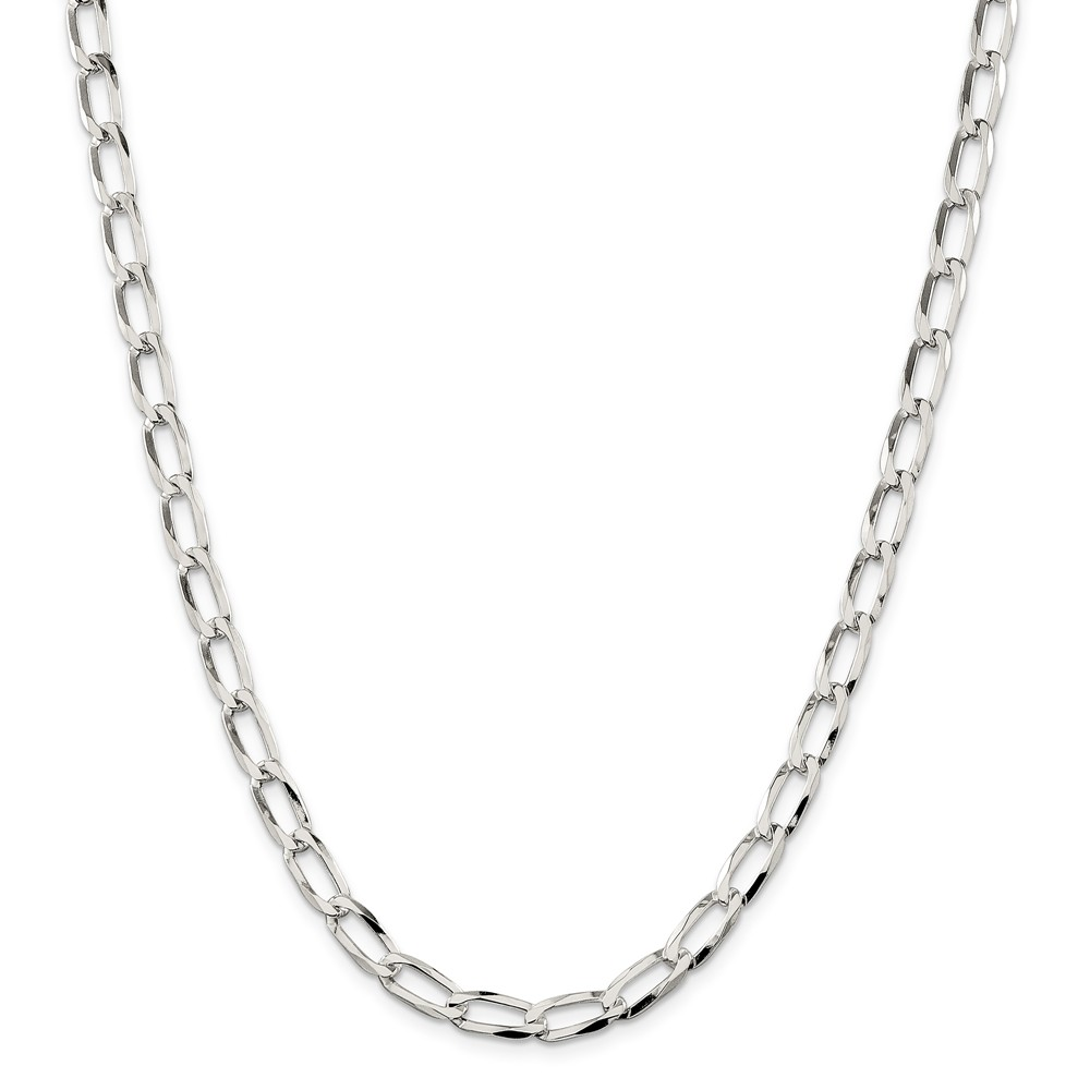 Sterling Silver 5.75mm Bracelet