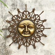 San Pacific International Radiant Sun Outdoor Wall Art