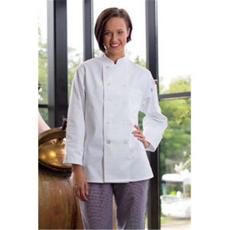 Uncommon Threads 0475-2501 Extra Small Napa Ladies Coat in White