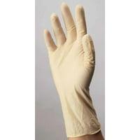 Exam Glove Esteem Stretchy Synthetic DOTP NonSterile Cream Powder Free Vinyl Ambidextrous Smooth - Medium - 150 Each / Box - 14701300