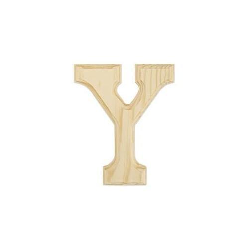 Juma Farms 350429 Wood Letters 6 inch -Letter Y