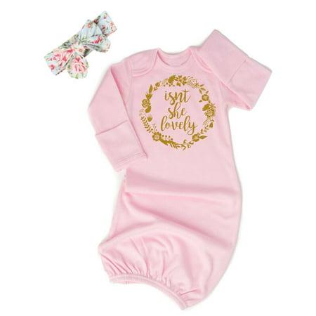 Lookwoild Newborn Baby Girl Flower Swaddle Wrap Long Sleeve Sleeping B