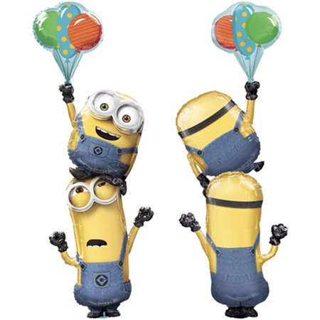 Minions Despicable Me Giant Stacker Multi - Foil Balloon 75
