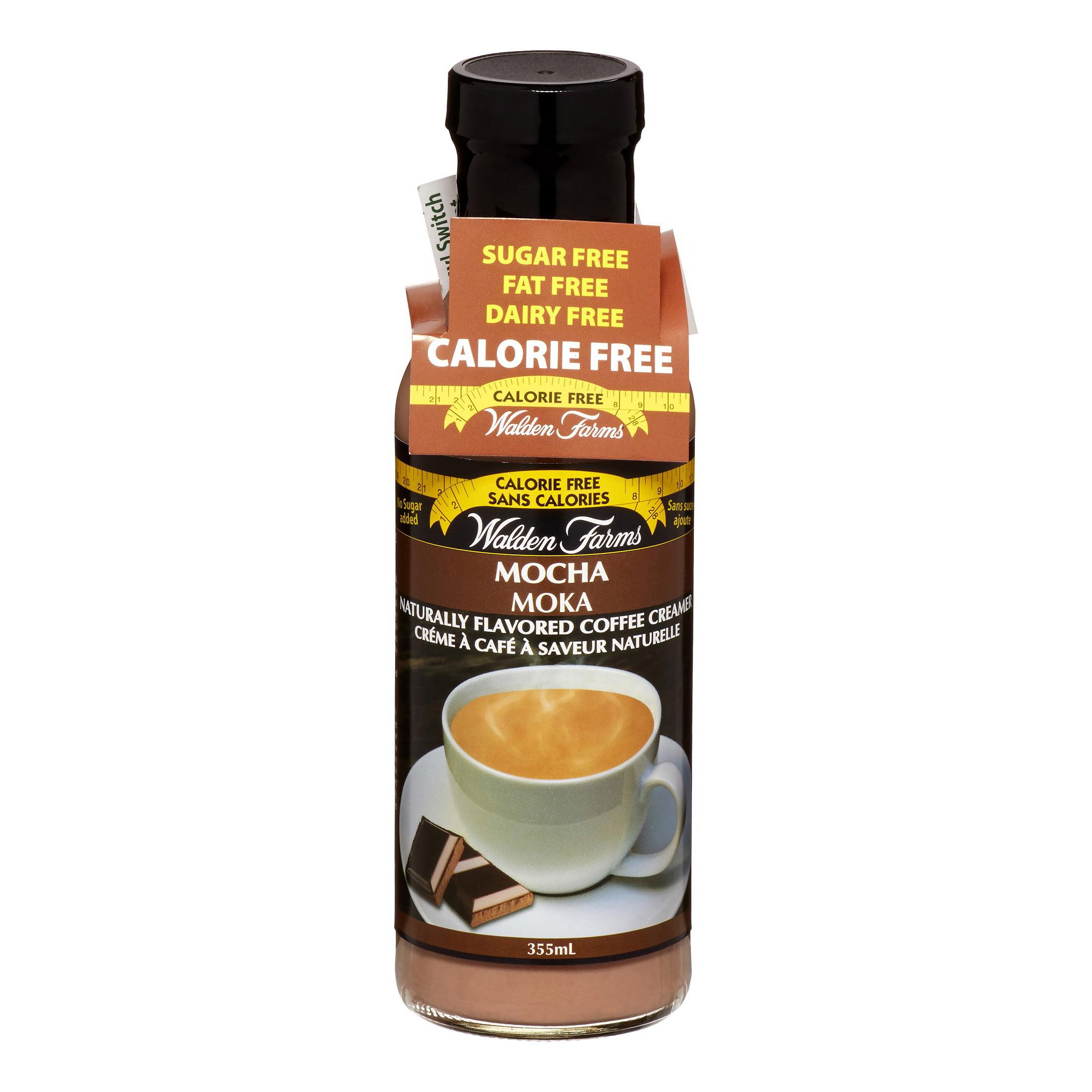 Walden Farms Calorie Free Mocha Coffee Creamer, 12 Oz