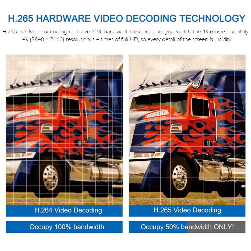 docooler R39 Smart Android 8 1 RK3229 Quad Core UHD 4K 2GB / 16GB WiFi  H 265 HD
