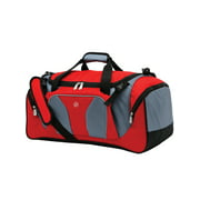"Protege 22"" Sport Duffel Bag, Red/Gray"