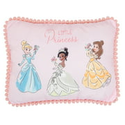 Lambs & Ivy Disney Princesses Pink Decorative Baby/Nursery Throw Pillow