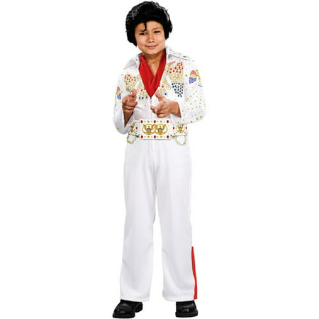 Elvis Deluxe Child Halloween - Female Elvis Costumes