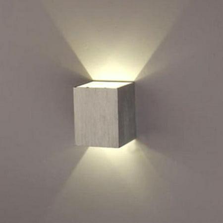 agptek indoor energy saving led soft light wall lamp for hallway walkway living room bedroom. Black Bedroom Furniture Sets. Home Design Ideas