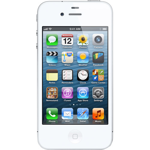 Apple Iphone 4s 16gb, White, For Net10,