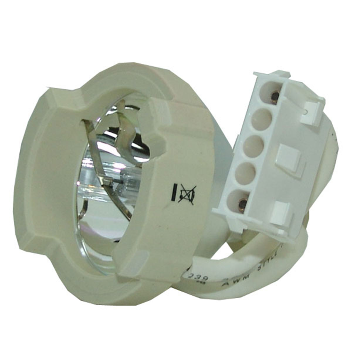 Original Osram Projector Lamp Replacement for NView Diamond 705 Bulb Only