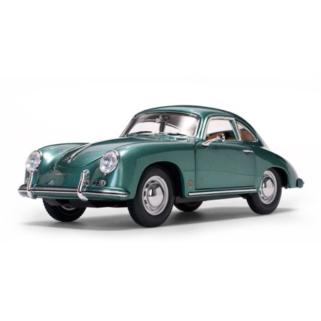 1957 Porsche 356A 1500 GS Carrera GT Coupe Green 1/18 Diecast Model Car by