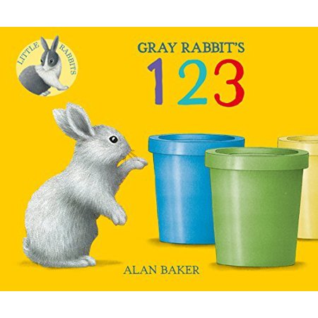 Gray Rabbit's 123 (Little Rabbit Books) - image 1 de 1