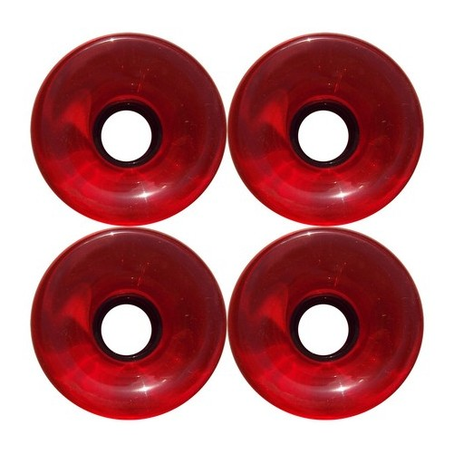 70mm 78a Offset Hub Red Longboard Wheels