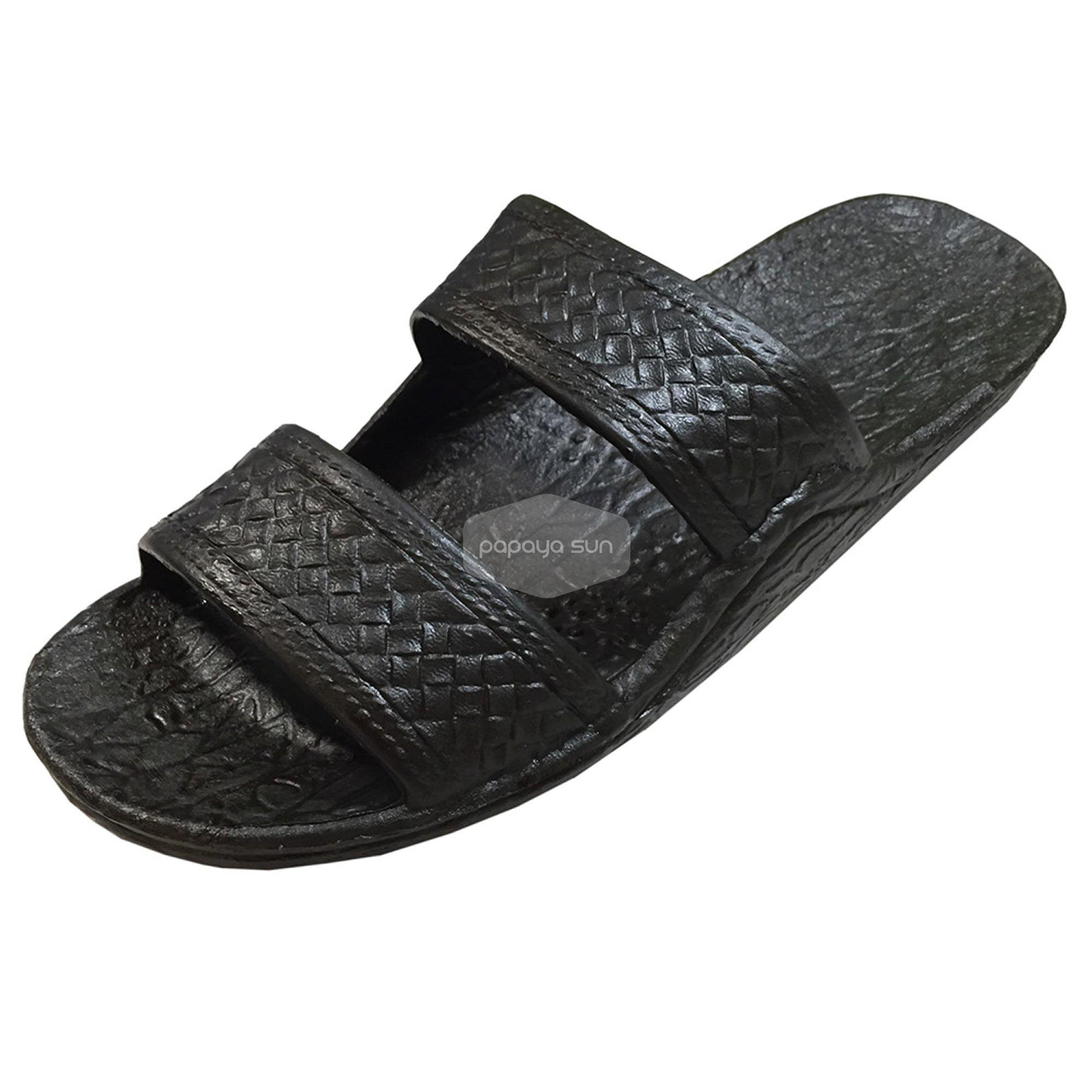 Pali Hawaii Jandals - Pali Hawaii Black