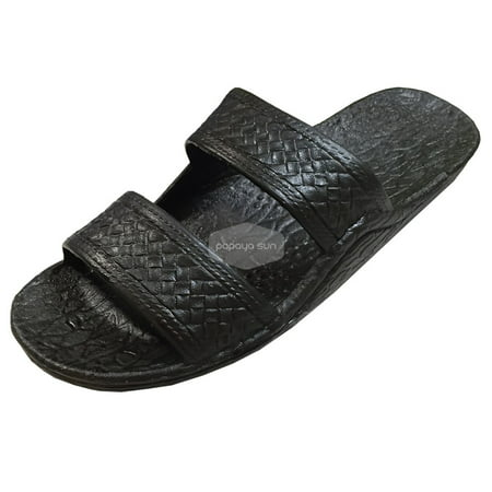 Pali Hawaii Black Jesus Hawaiian Sandals Jandals