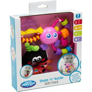 Playgro Girls' Shake 'n' Rattle Gift Pack, Pink