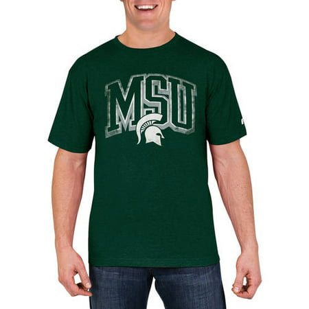 NCAA Michigan State Spartans Men's Cotton/Poly Blend T-Shirt