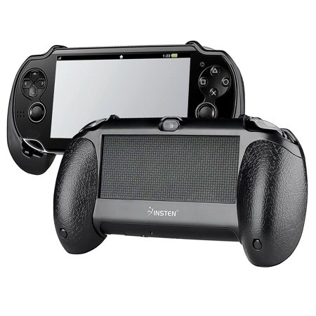 Insten For Sony PS Vita PSV Black Bracket Joypad Hand Grip Holder
