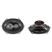 "LANZAR MX573 - 5"" x 7"" 440 Watts 3-Way Triaxial Speakers"