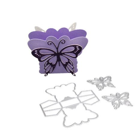 Printable Box Template - All clearance Elegant Butterfly Gift Box Cutting Dies Crafts Embossing Templates New 2018 Wedding Party DIY Decoration
