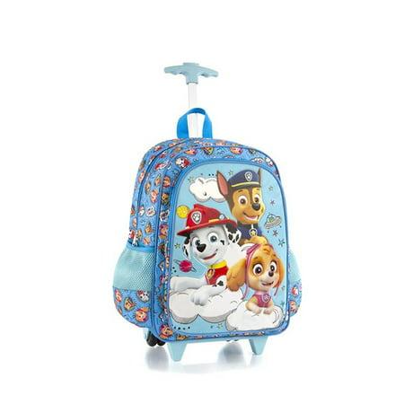 600ec47916 PAW Patrol - Nickelodeon Core 18 Inch School Bag Rolling Backpack for Kids   PAW Patrol  - Walmart.com