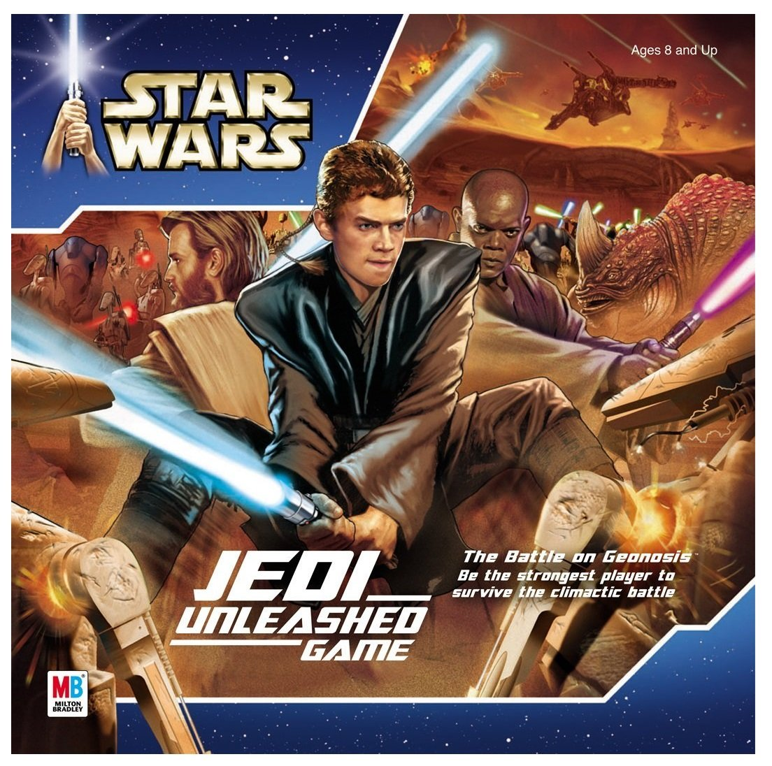 Star Wars Jedi Unleashed Game, Battle against creatures and droids on the Geonosis battle field By Milton... by