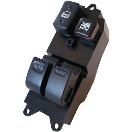 Toyota T100 Master Power Window Switch 1993-1998 (1993, 1994, 1995, 1996, 1997, 1998) (electric control panel lock button auto driver passenger door)