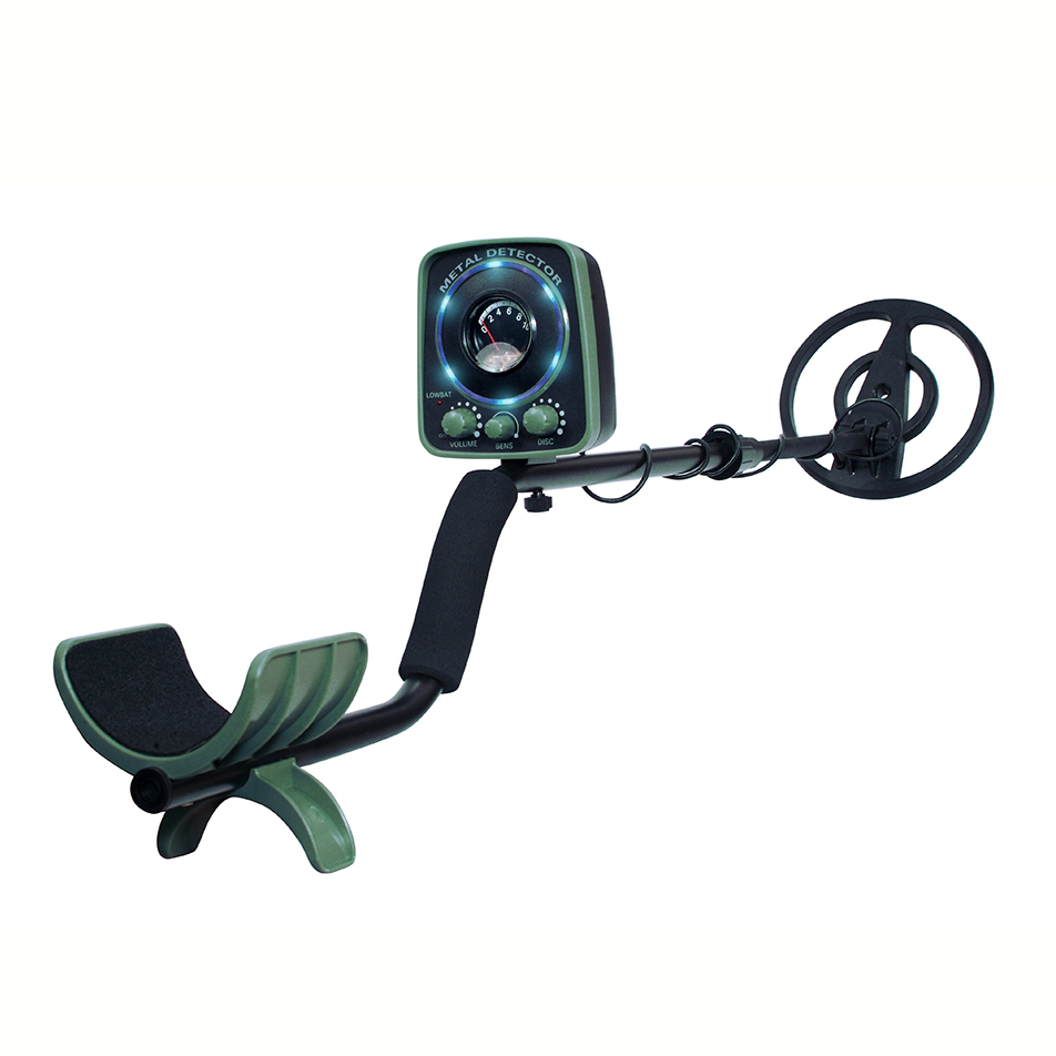 "Qwest LED 50"" Metal Detector Kit w  Shovel Scoop Treasure Hunter Waterproof Coil by Qwest"