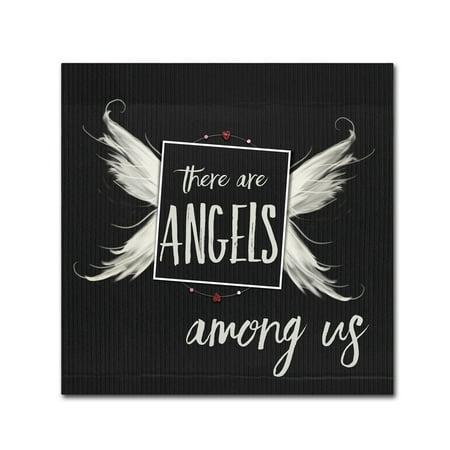 Trademark Fine Art 'Angels Among Us' Canvas Art by Marcee Duggar